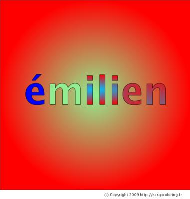 Prénom Emilien