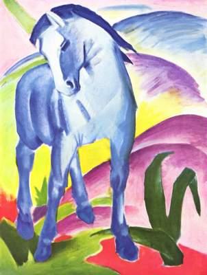 Le Cheval Bleu, Franz Marc