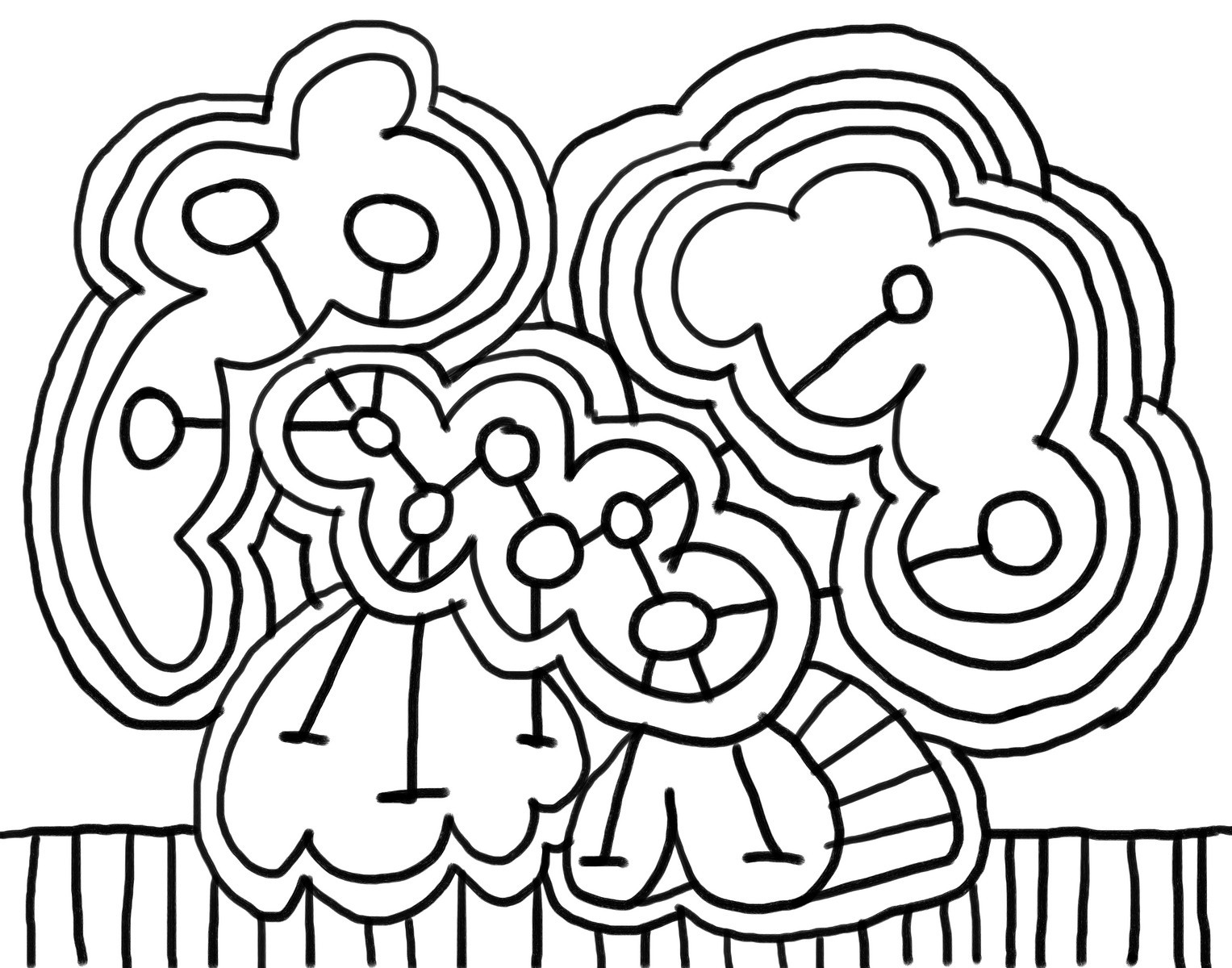 Online kids coloring book - Example
