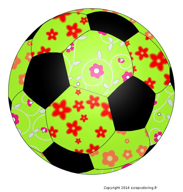 Coloriage Ballon de foot