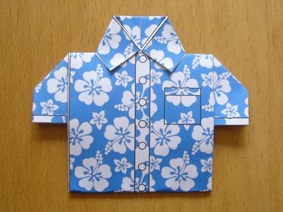 Chemise origami