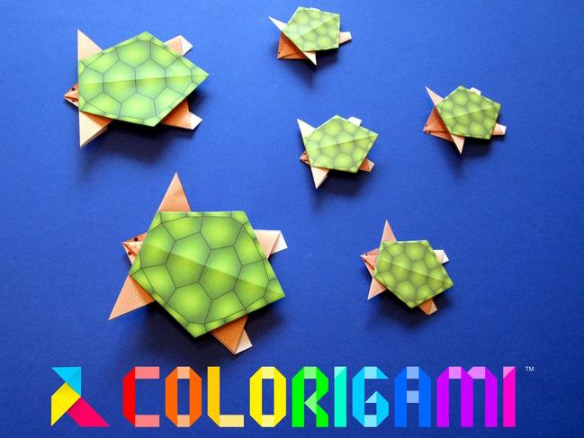 Tortues en origami