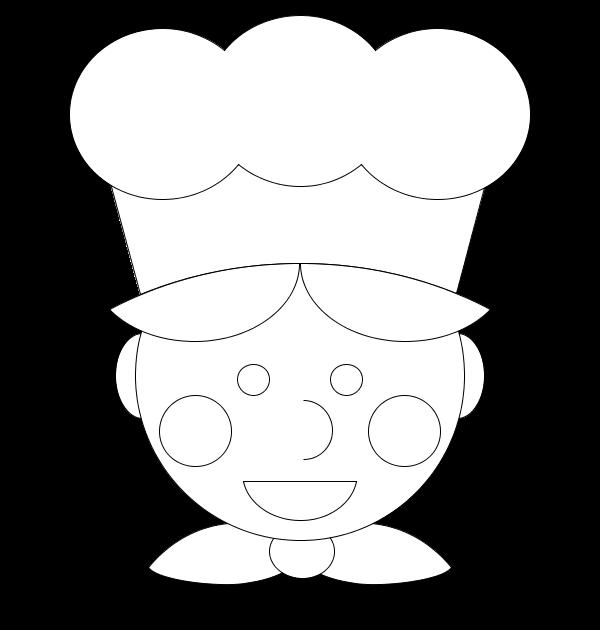 Coloriage cuisinier - Coloriage cuisinier ...
