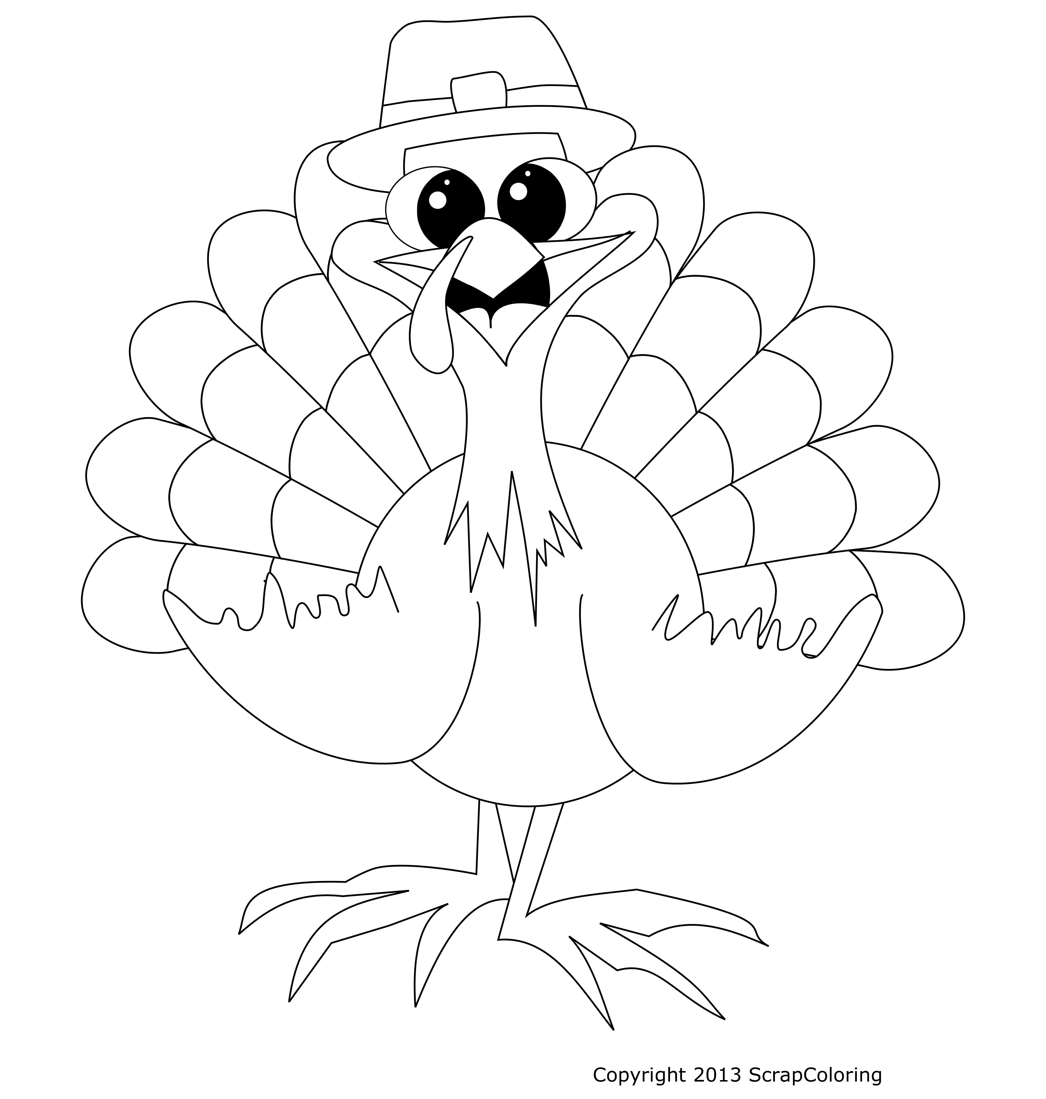 Dessin Dindon coloriage dindon de thanksgiving