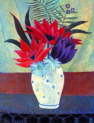 Fleurs de Lotus, le Douanier Rousseau