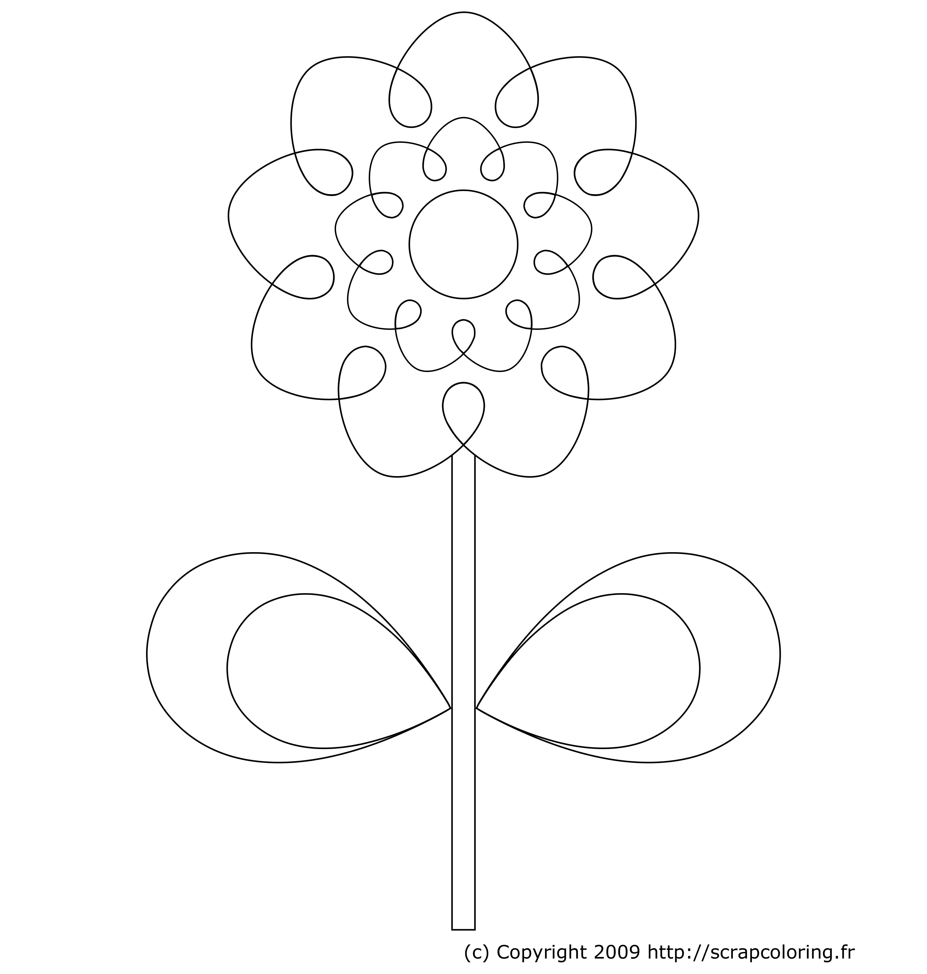 fleur retro