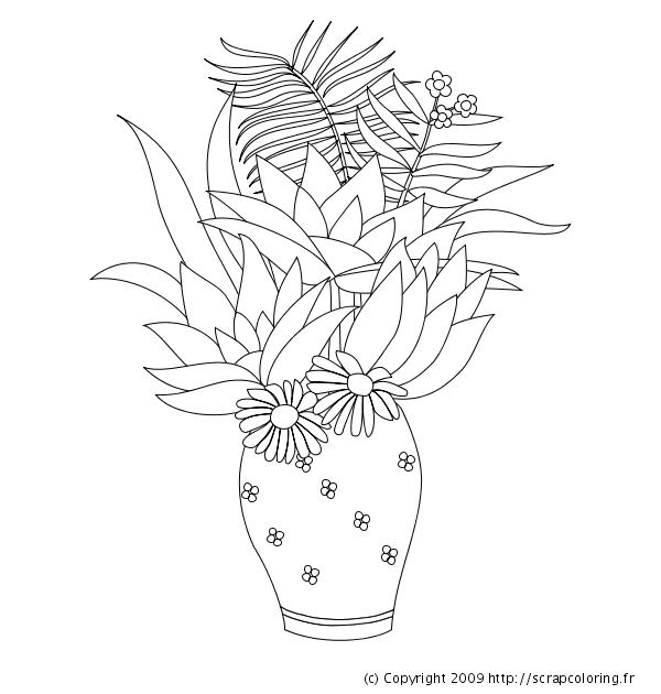 Coloriage fleurs de lotus henri rousseau - Fleur de lotus dessin ...