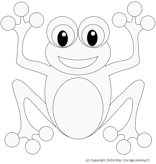 baby frog coloring pages - photo#32