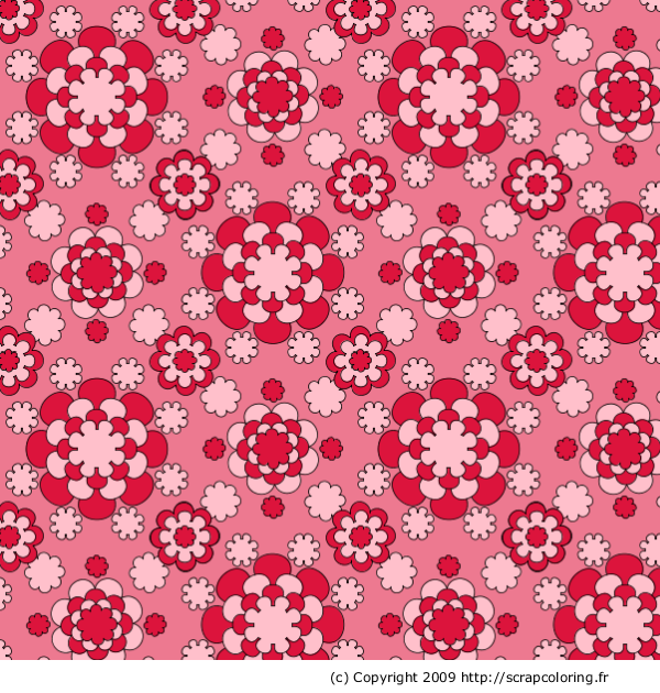 Motif dahlia for Motif dessin