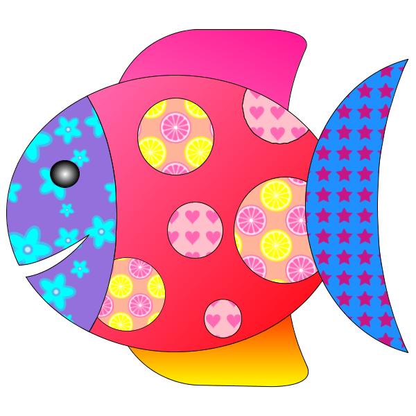 Coloriage poisson d 39 avril - Poisson dessin couleur ...