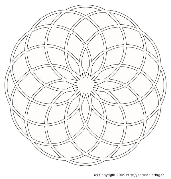 Rosace et compas - Comment faire une rosace trilobee ...