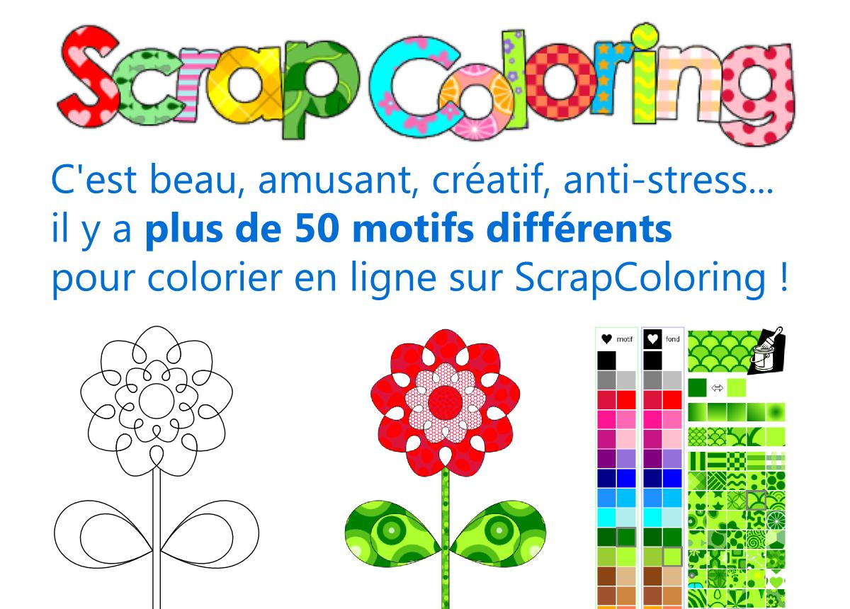 scrapcoloring coloriage en ligne et coloriages imprimer - Coloriag En Ligne