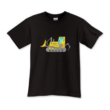 Tshirt bulldozer