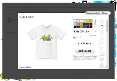 Création de tshirt personnalisé